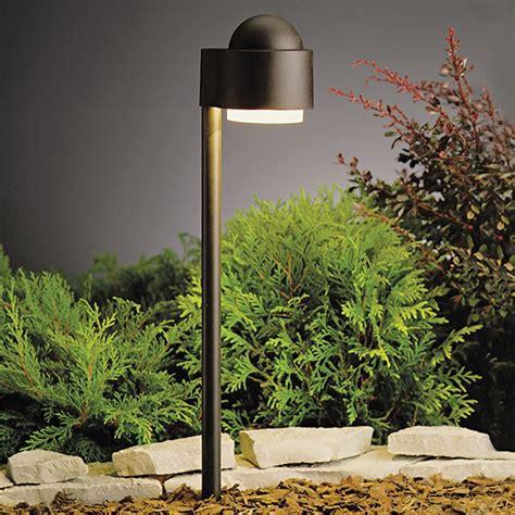 kichler landscape lighting kichler low voltage path light 15360azt destination