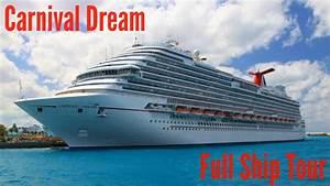 Carnival Dream  Full Ship Tour
