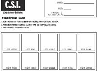 fingerprint cards print extra fingerprint cards