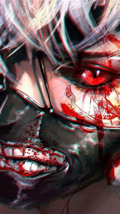 Kaneki Ghoul Tokyo Ken Eyes Mask Wallpapers