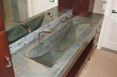 concrete bathroom countertops master bathroom concrete