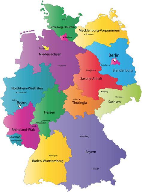 provinz karte von deutschland karte von deutschland