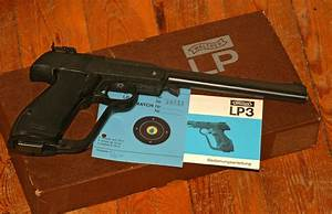 Scientific Illustration Walther Lp3 Seal Replacement