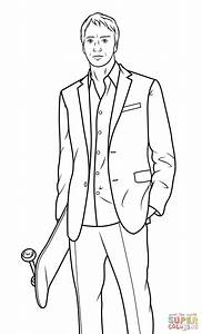 Tony Stark Suit Coloring Pages
