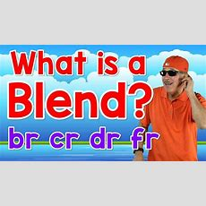 What Is A Blend?  Br, Cr, Dr, Fr  Writing & Reading Skills For Kids  Phonics Song Jack