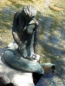 Sirena The Indian Mermaid Statue In Salado  Texas