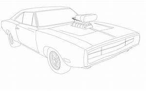 Dodge charger doms car free coloring pages for Zipcharge quick charger