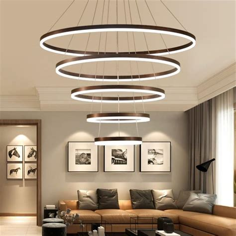 dutti  led chandelier modern minimalist led