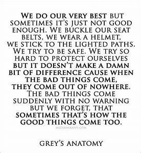 30 Inspiring greys anatomy quotes   Quotes Words Sayings