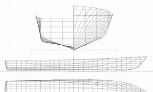 Lines Plan Of The Parent Hull Form Of The Ntua Series  The Body Plan Is