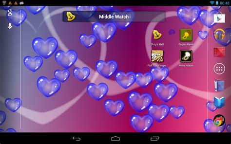 Bubble Hearts Live Wallpaper