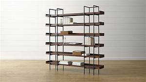 Beckett 6-High Shelf + Reviews | Crate and Barrel