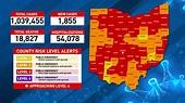 Ohio Coronavirus Map April 11 - CRONAVS