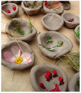 Nature Crafts Textured Bowls Fun Crafts Kids