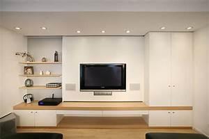 Tv Möbel Ecke : tv wand m bel ideen pinterest wohnzimmer trockenbau und leinwand ~ Frokenaadalensverden.com Haus und Dekorationen