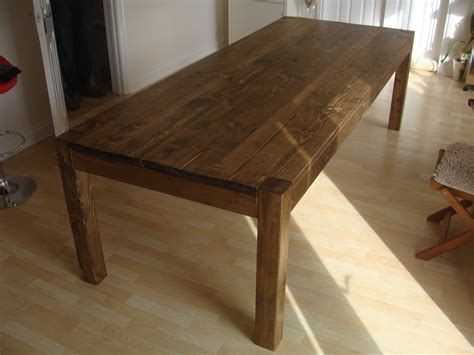 Scaffold board dining table