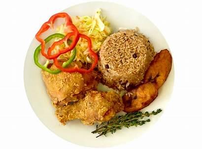 Dinner Lunch Jamaican Dutch Pot Fry Chicken