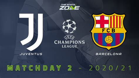 2020-21 UEFA Champions League – Juventus vs Barcelona ...