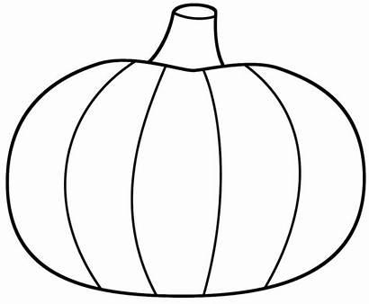 Pumpkin Printable Outline Coloring Pages Pumpkins Clipartion