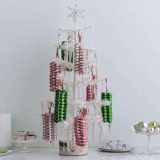 martha stewart merry bright ribbon ornaments food