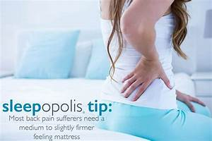 best mattress for back pain sleepopolis With bed hurts lower back