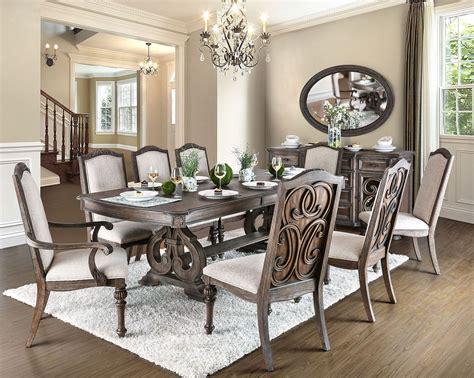 arcadia rustic natural tone extendable rectangular dining