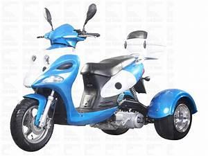 150cc Air Cooled  Trike Single Cylinder  4 Stroke  Belt 12
