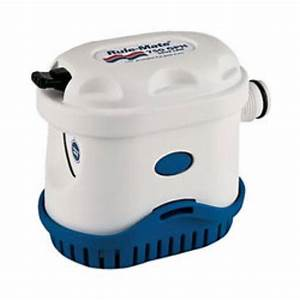 Rule Automatic Electric Bilge Pump 750 Gph 12 Volt