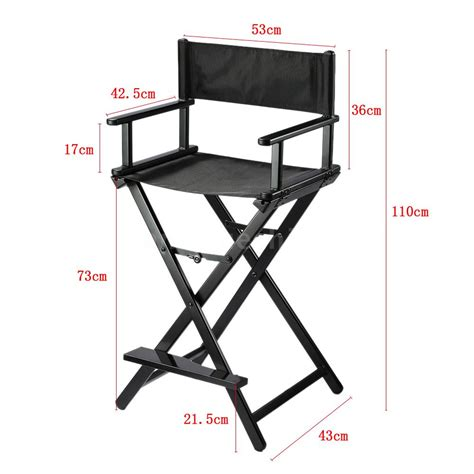 portable directors chair professional makeup artist director chair aluminum frame