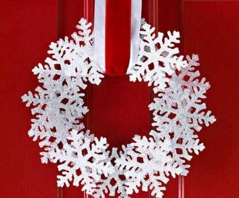 tolle weihnachten tuerdekoration