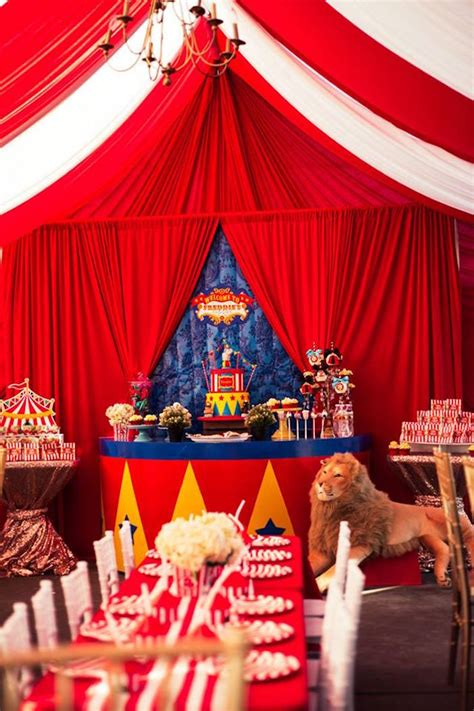 Kara's Party Ideas The Big Top Circus Birthday Party