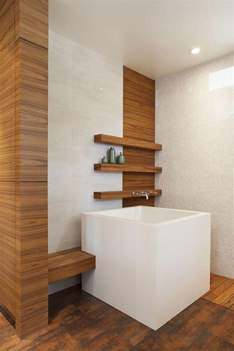 Soaking Tub Small Bathroom by Stunning White Scheme Granite Materials Japanese Soaking