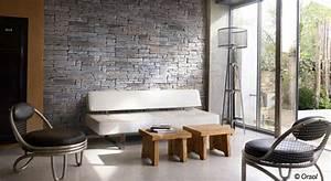 relooker ses murs avec des plaques de parement 20 05 With idee deco mur interieur