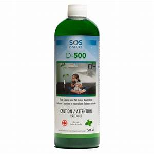 Enlever Odeur Urine Chien : d 500 cleaner and pet odour neutralizer product sos odours ~ Nature-et-papiers.com Idées de Décoration