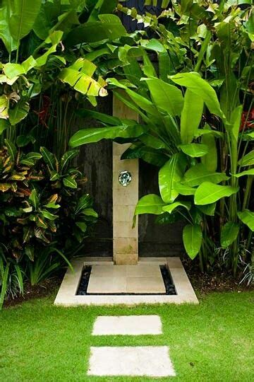Tropical Shower by Outdoor Tropical Shower Pool Pools