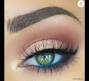 Maquillage Mariage Yeux Vert : maquillage yeux vert mariage ~ Nature-et-papiers.com Idées de Décoration