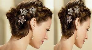 Hairstyles Bun For Saree Hair