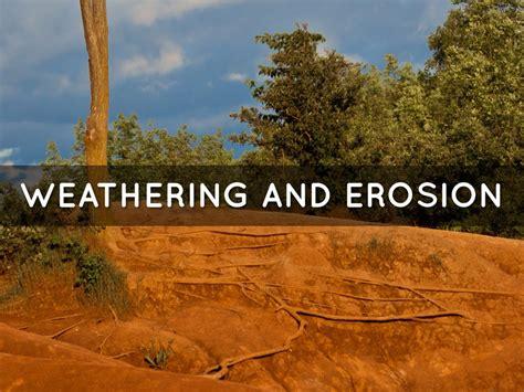 weathering erosion