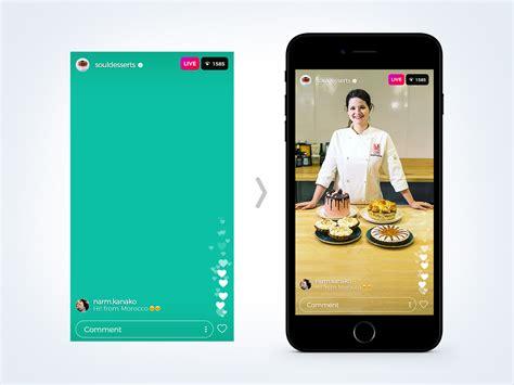 Instagram Mockup Free Instagram Sponsored Live Status Stories Ui Mockup