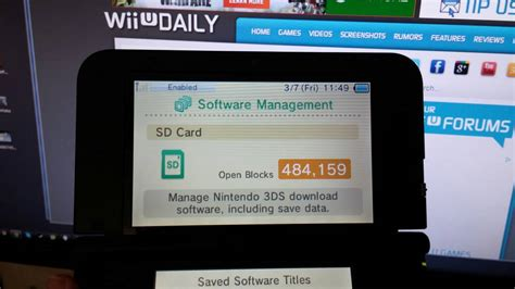 In some applications, a device will require. How to format a high capacity SD card for use with Nintendo 3DS - NintendoToday