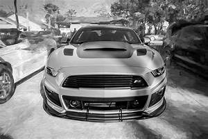 2017 Ford Mustang Gt P-51 Roush 15e Photograph by Rich Franco