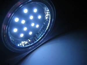 Halogen Deckenfluter Led Umrüsten : led halogen light converson using 12v 12x led discs 3 ~ Watch28wear.com Haus und Dekorationen