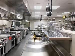 Stainless Steel Kitchen For Modern Restaurant