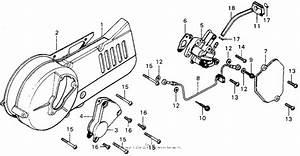Left Crankcase Cover   Oil Pump For Honda Mt125