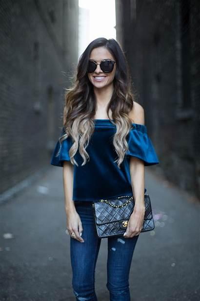 Velvet Sapphire Shoulder Mia Maria Miamiamine