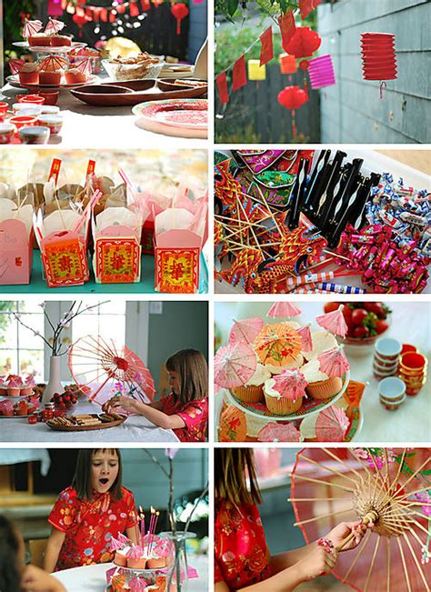 Lotushaus China Chic 8th Birthday Party Inspiration