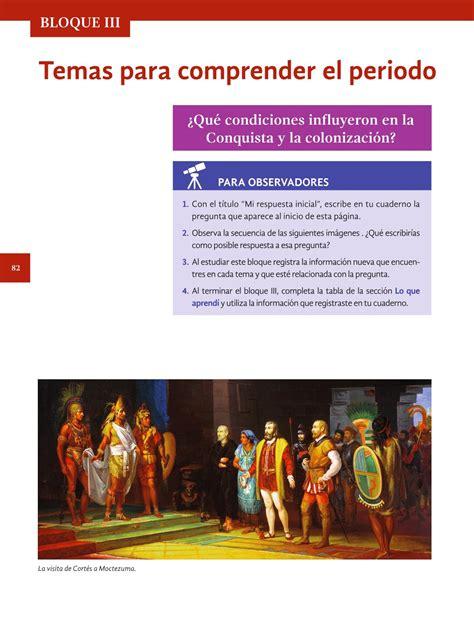 Que viene en la página 122 a la 125 del libro de historia cuarto grado. Historia Cuarto grado 2016-2017 - Online - Página 16 de ...