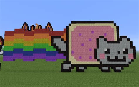 Nyan Cat Pixel Art By Geminis240 On Deviantart