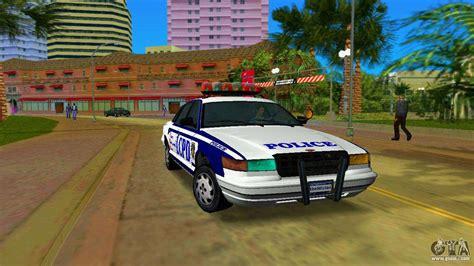 Gta Iv Police Cruiser For Gta Vice City