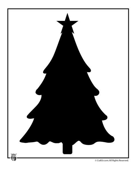printable christmas templates shapes and silhouettes christmas tree template craft jr c r